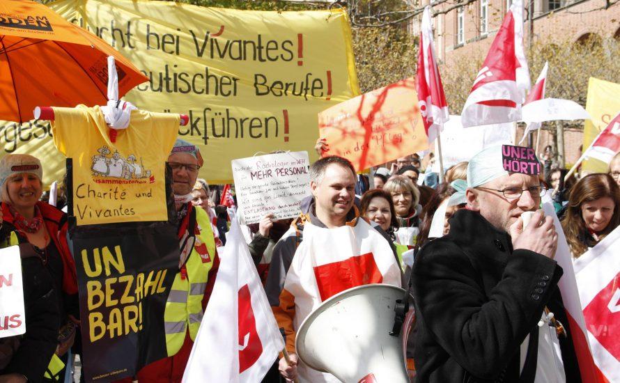 Streik an der Charité ab Montag – aber was ist mit der CFM?