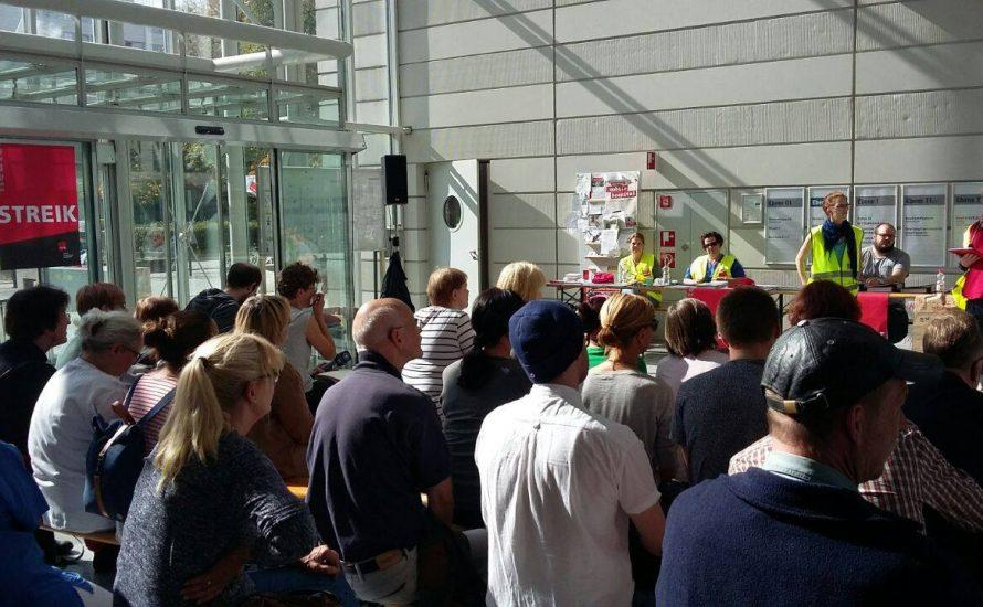 Charité-Streik ausgesetzt, aber nicht beendet – jetzt brauchen wir gemeinsame Streiks!