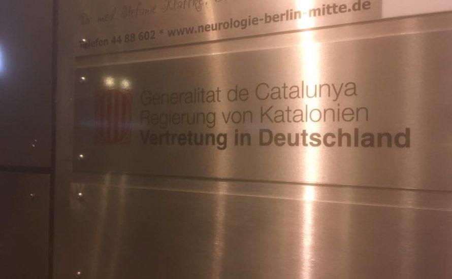 Berlin: 150 Menschen gegen die Repression in Katalonien