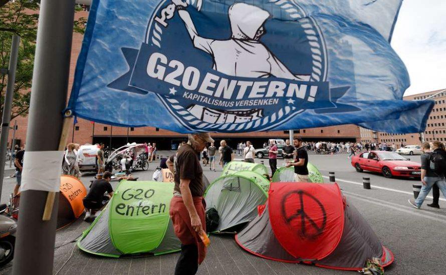 Nieder mit dem Verbot des G20-Protestcamps!
