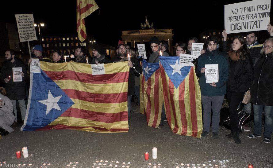 Von Berlin nach Barcelona: Freiheit für die politischen Gefangenen! [mit Bildern und Video]