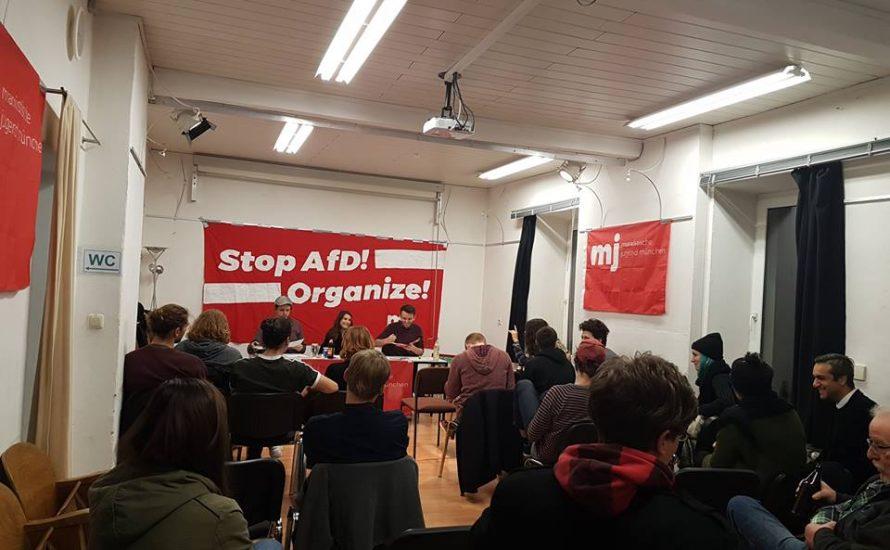 Stop AfD – Organize! Viele Interessierte bei Auftakttreffen der Marxistischen Jugend München