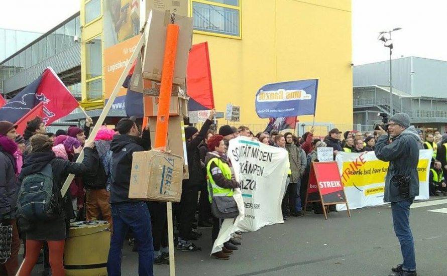Arbeitskampf beim Online-Riesen: Arbeiter*innen vermiesen Amazon den Black Friday