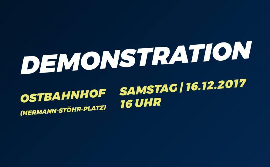 16.12. 16 Uhr: Tanz für TVStud 3 - Demo