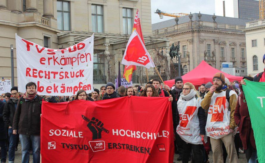 TVStud: Volles Programm in der zweiten Streikwoche