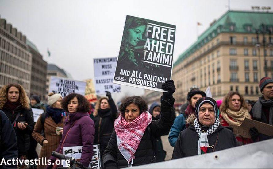 """Berlin: """"Free Women Wordwide"""" und """"Free, free Palestine"""" gehören zusammen [mit Video]"""