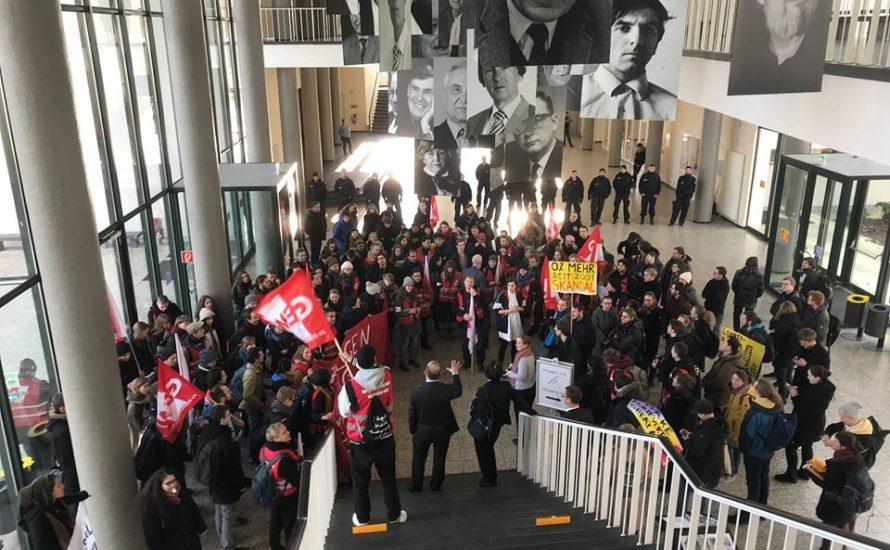 Skandal: Was macht die Polizei auf dem FU-Campus?