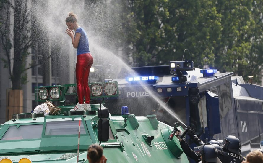 Die Polizeigewalt in Hamburg war auch sexistisch