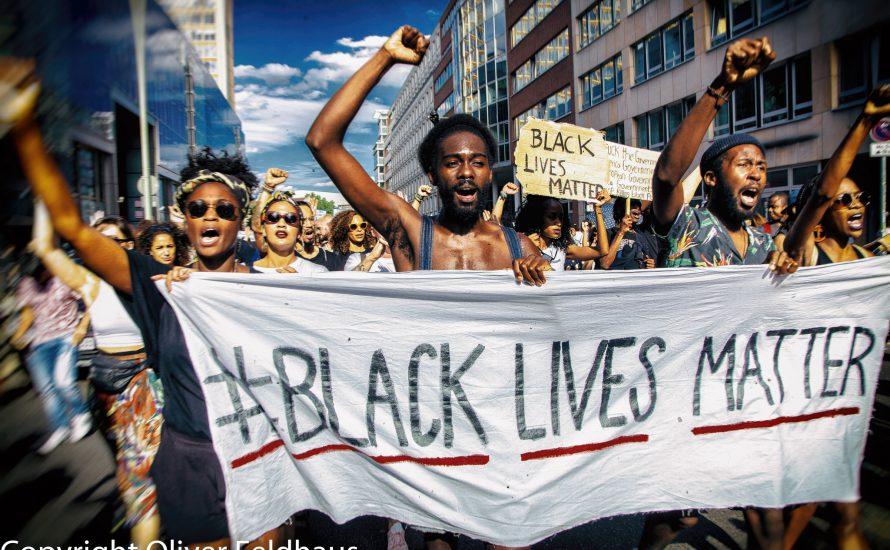 Auch in Berlin: #BlackLivesMatter
