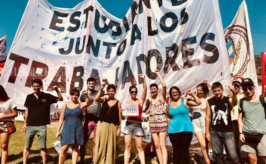 Internationale Solidarität aus Lateinamerika mit Tarifkampf der studentischen Beschäftigten