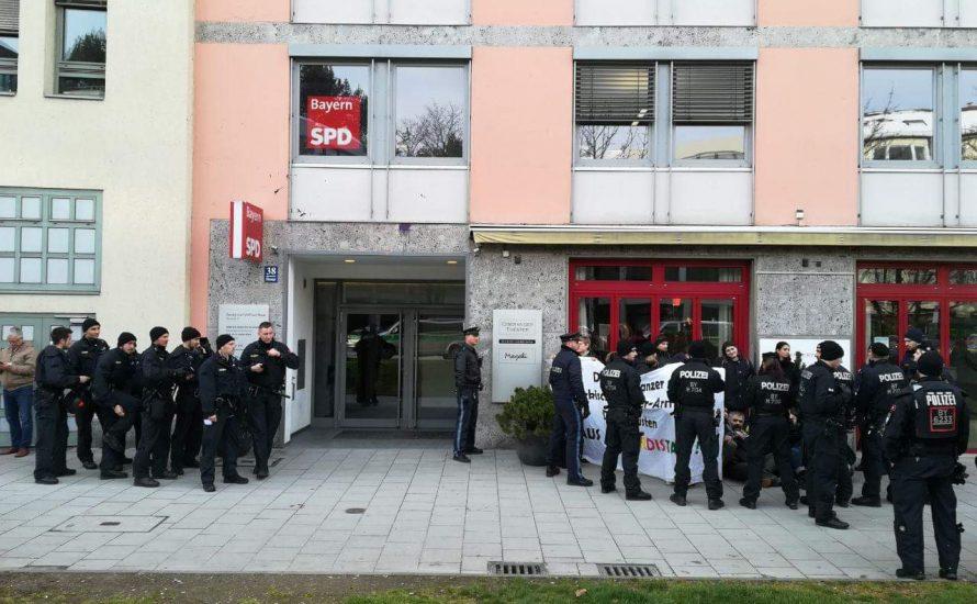 [München] 27.11.: Kundgebung zum Gerichtsprozess gegen Narges Nassimi