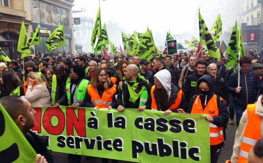 Frankreich im Streik gegen Privatisierung der Eisenbahn
