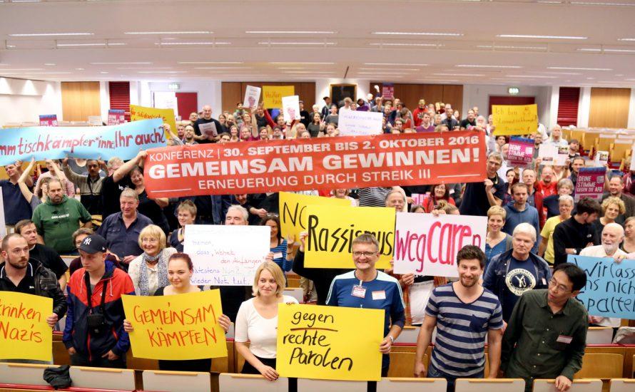 Streikkonferenz in Frankfurt: Vernetzung der Basis oder Sebstinszenierung linker Bürokrat*innen?