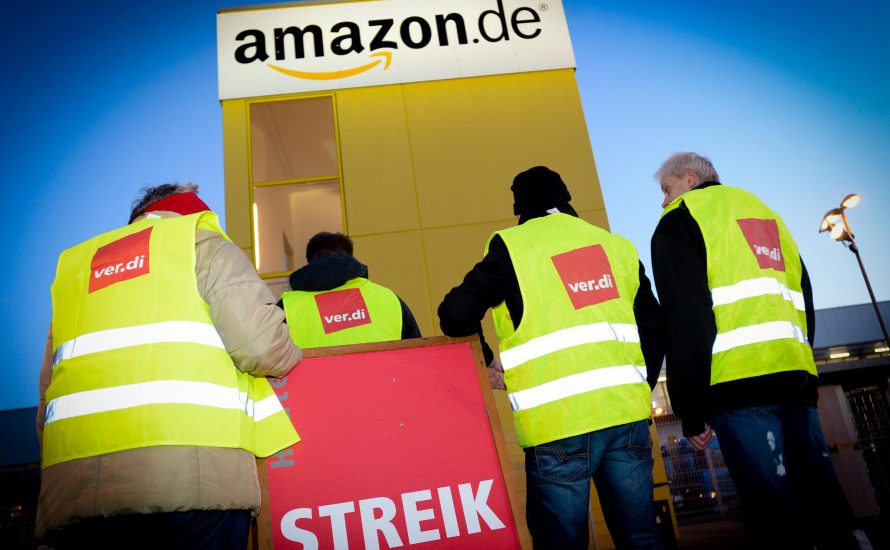 Amazon bestraft Kranke - die Beschäftigten streiken
