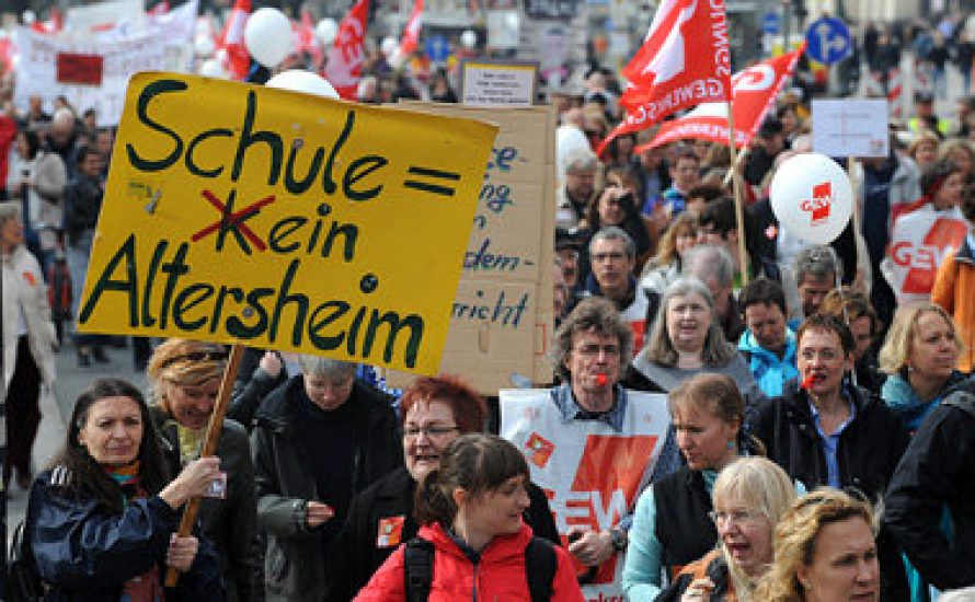 LehrerInnenstreik in Berlin