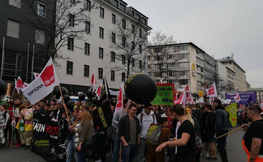 """Bayern: """"Heute ist kein Arbeitstag, heute ist Streiktag!"""""""
