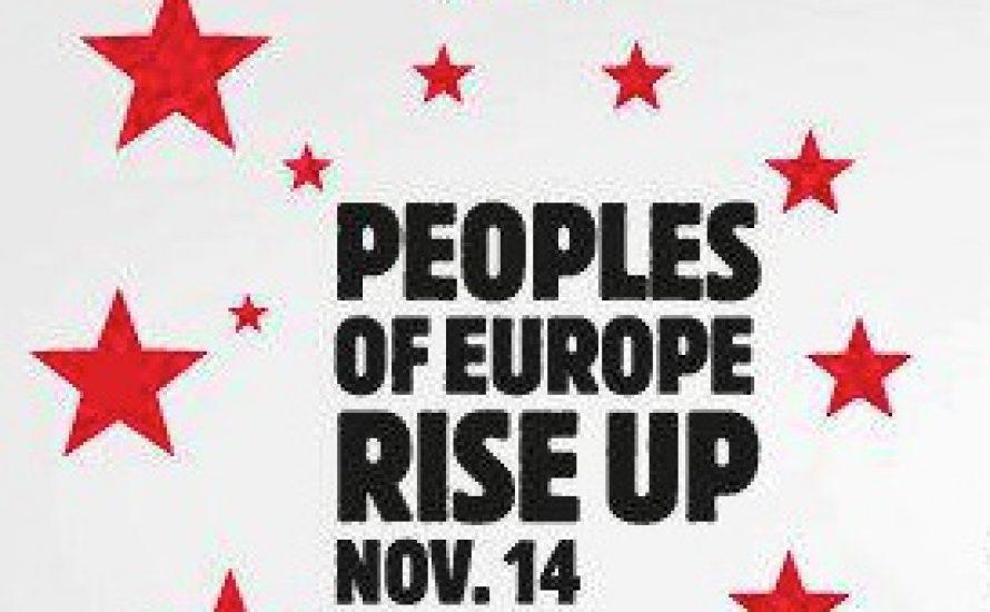 Für einen europaweiten Generalstreik!