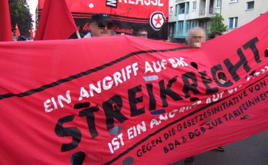Profs gegen Streiks