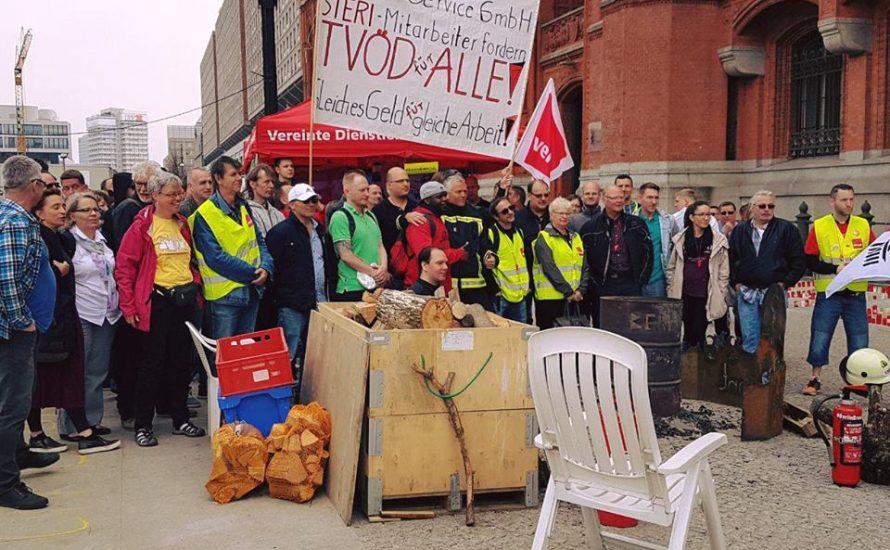 VSG-Streik: Krankenhaus und Feuerwehr gemeinsam gegen Sparzwänge