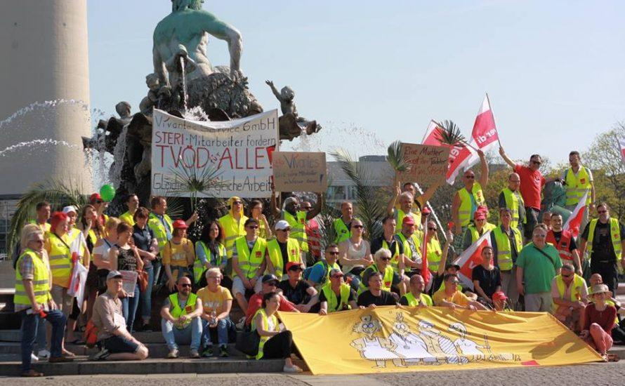 VSG: Zehnter Streiktag im Zeichen der Solidarität
