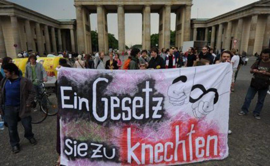Berlin: Demo gegen Hochschulgesetznovelle