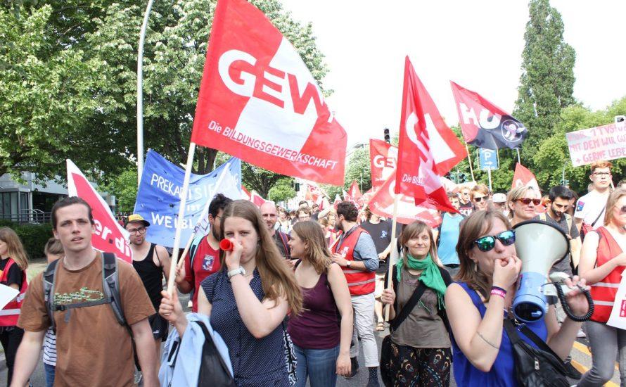 TVStud: Jetzt wird's ernst - zwei Wochen Streik!