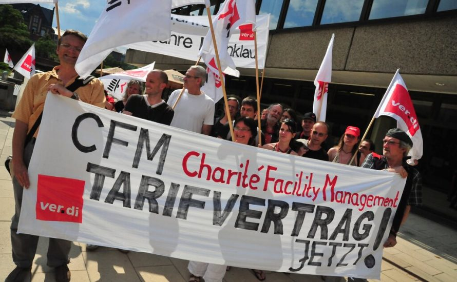"""CFM-Temizlik işçisi: """"Yönetimin bizi yıldırmasına izin vermeyelim!"""""""