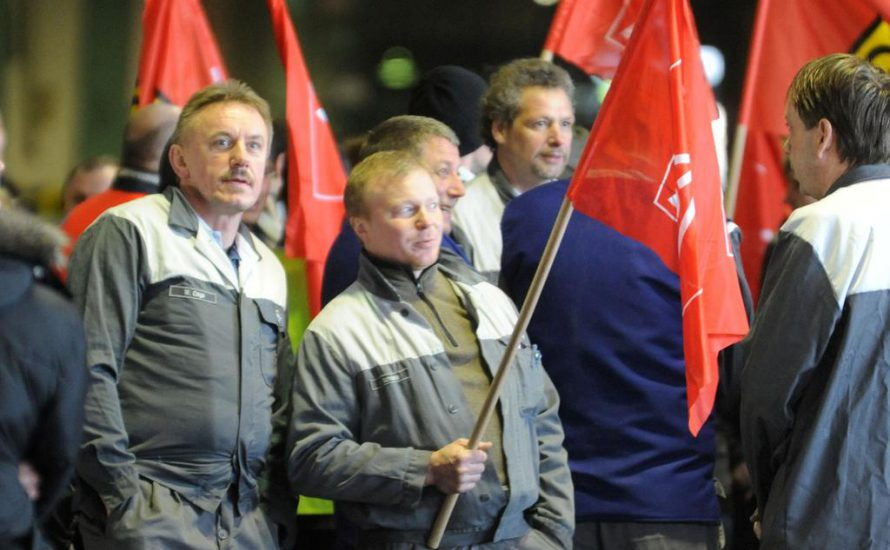 Streik bei Opel-Bochum!