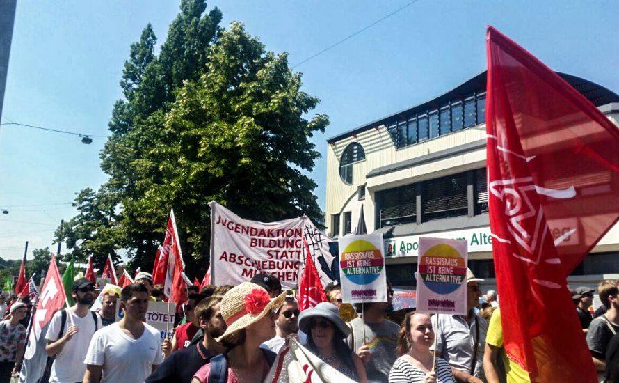 7000 gegen die AfD in Augsburg