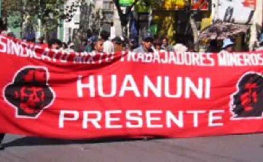 Bolivien: Die MAS will die ArbeiterInnen von Huanuni niederschlagen