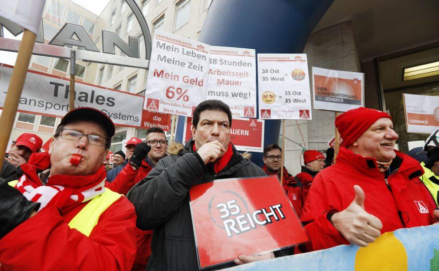 Die IG Metall radikalisiert den Kampf um die Arbeitszeit: 24h-Streiks ab Mittwoch