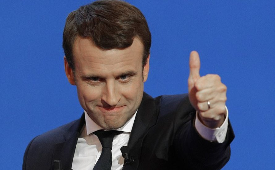Emmanuel Macron raus aus der Goethe-Universität!