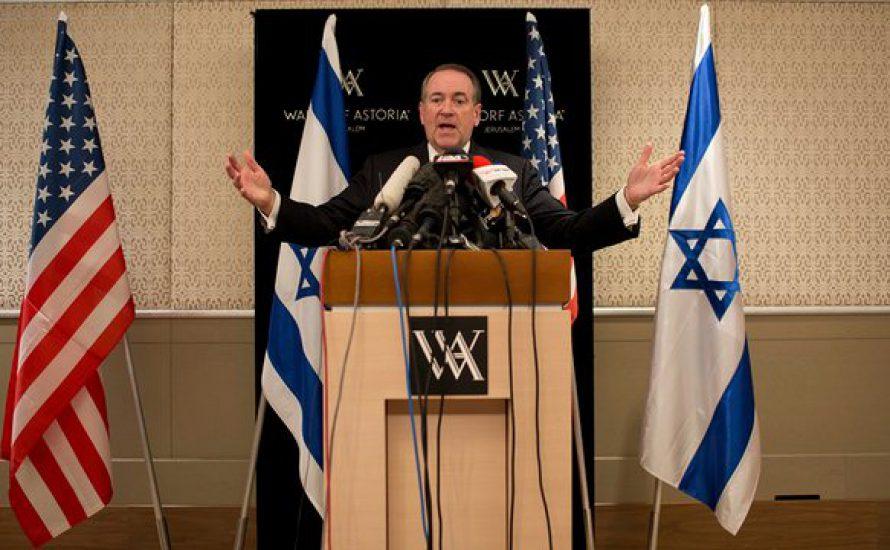 """""""Mein Plan für die Sicherung der Grenzen? Zwei Worte: Chuck Norris."""" – Der potentielle neue US-Botschafter in Israel"""