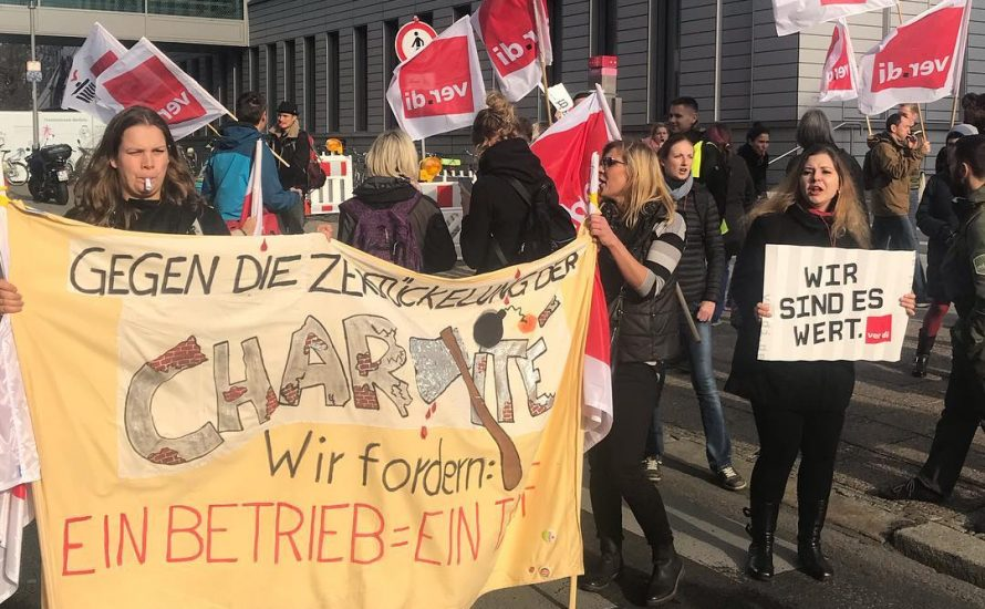Therapeut*innen im Streik: Gleiches Geld für gleiche Arbeit!
