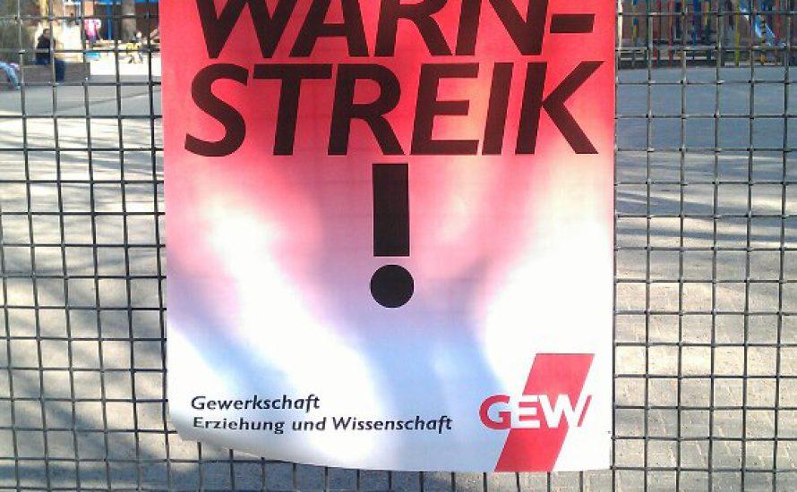 Solidarität mit den Warnstreiks am 6. März