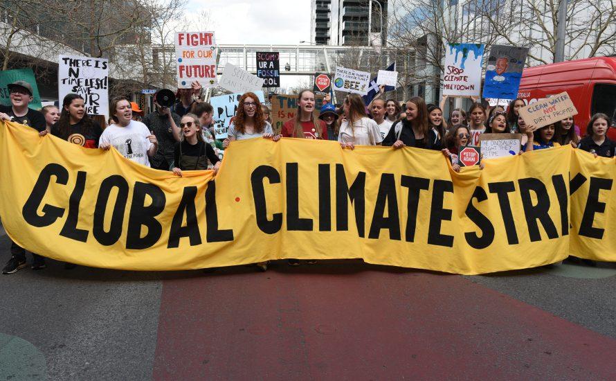 Streiken gegen Klimakrise, Krieg und Profitgier