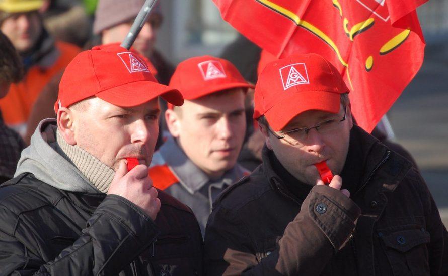 #ZeroEntlassungen: IG Metall muss gegen den Abbau von 400.000 Stellen zu Streiks aufrufen
