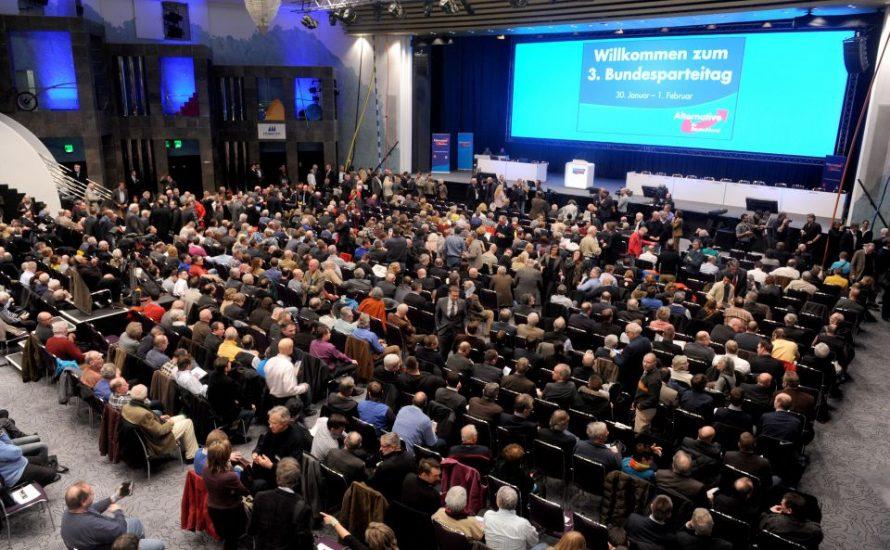 AfD will nächsten Bundesparteitag in Augsburg abhalten
