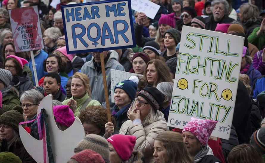 Wird 2017 das Jahr des Widerstands gegen Angriffe auf Frauenrechte?