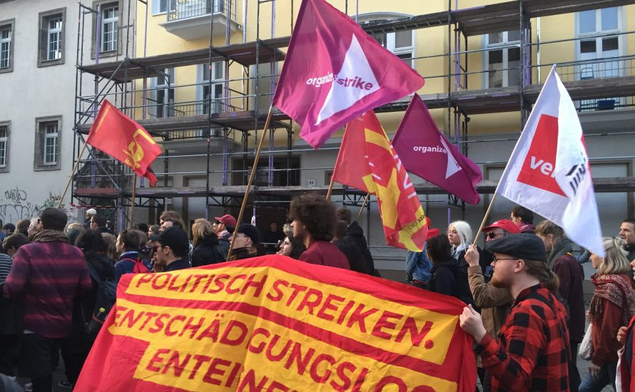 Impressionen vom Revolutionären 1. Mai in Berlin