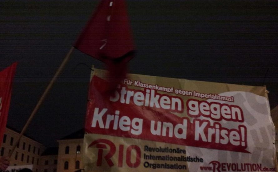 München: Solidarität mit den Generalstreiks in Südeuropa