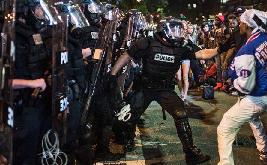USA: Straßenkämpfe in Charlotte