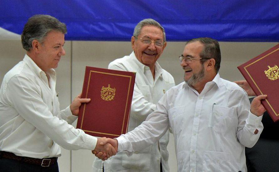 Kolombiya'da yeni barış anlaşması