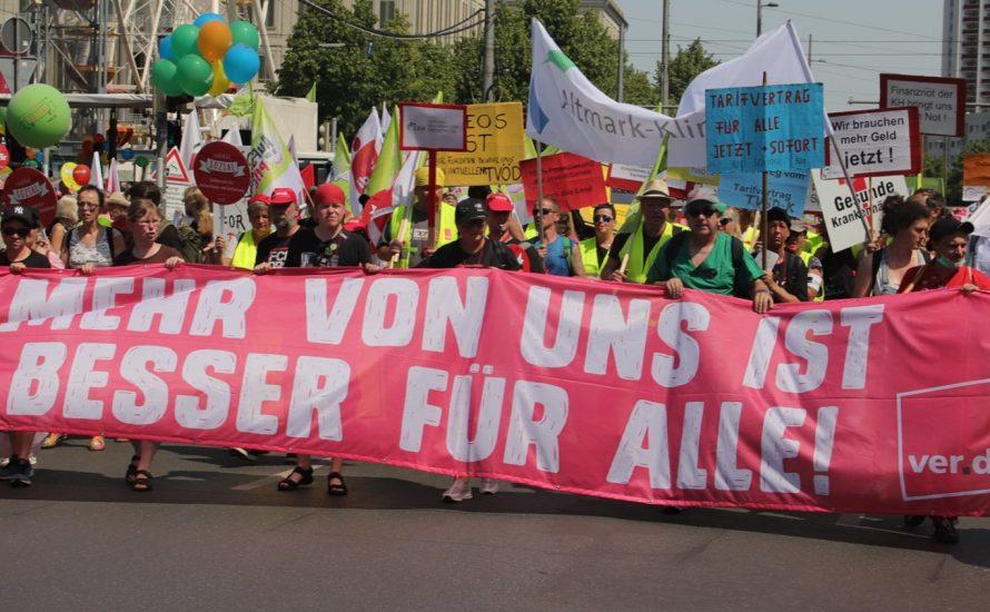 Streiks in Kliniken, Kitas, Nahverkehr: Die Reichen sollen für mehr Personal zahlen!