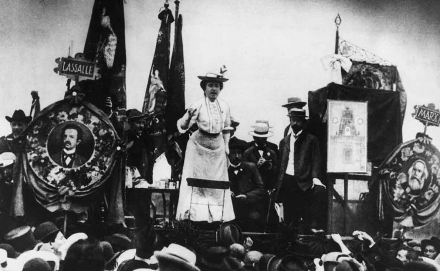 Rosa Luxemburg: Wie entstand die Maifeier?