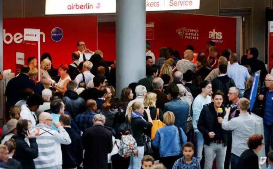 Air Berlin: Die Krankmeldungen sind legitim! Gewerkschaften müssen zum Streik aufrufen!