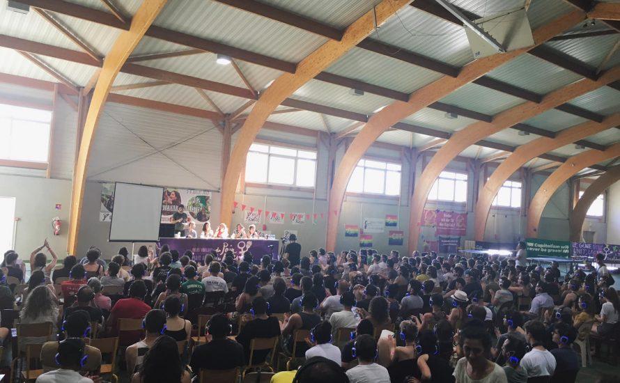 350 Jugendliche, Frauen und Arbeiter*innen bei Revolutionärer Internationalistischer Sommerakademie in Südfrankreich