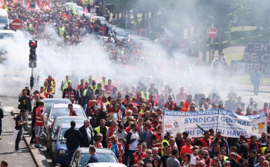 Streikhauptstadt Frankreichs: Studierende und Arbeiter*innen kämpfen gemeinsam in Le Havre