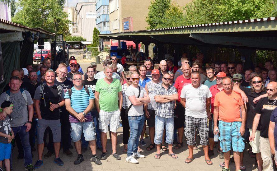 Gegen die Aussetzung des Streiks bei Halberg Guss – für den Erhalt aller Arbeitsplätze!