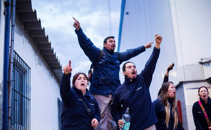 Nein zur Schließung der PepsiCo-Fabrik in Argentinien! Keine Produkte von Lays und PepsiCo kaufen!